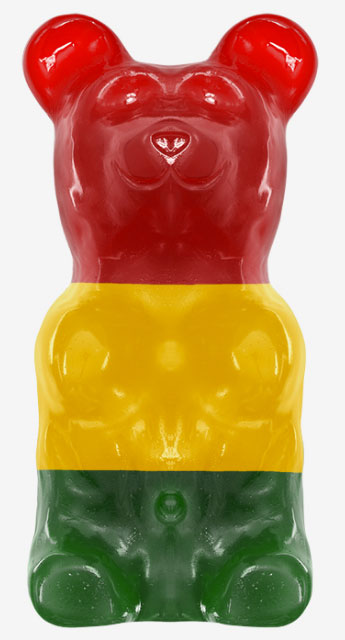 Astro Giant Gummy Bears (5 LBS)