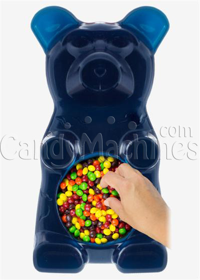 Giant Gummy Bear Candy Bowl - Blue Raspberry Flavored