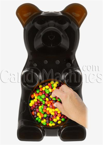 Giant Gummy Bear Candy Bowl - Cola Flavored