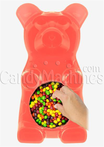 Giant Gummy Bear Candy Bowl - Fruity Bubblegum Flavored