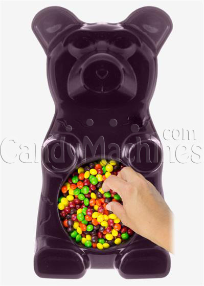 Giant Gummy Bear Candy Bowl - Grape Flavored