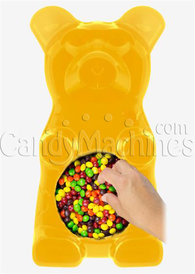 Giant Gummy Bear Candy Bowl - Lemon Flavored