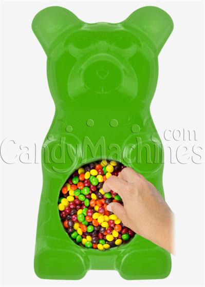 Giant Gummy Bear Candy Bowl - LimeFlavored