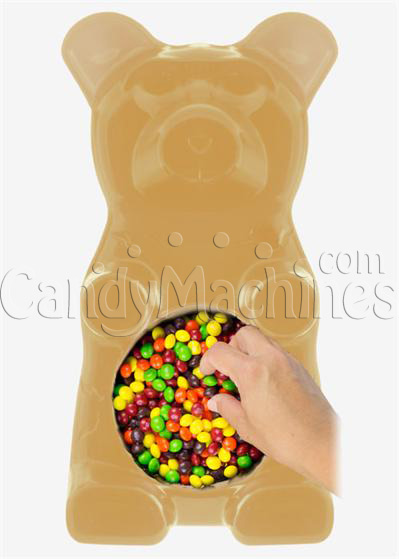Giant Gummy Bear Candy Bowl - Pineapple Flavored
