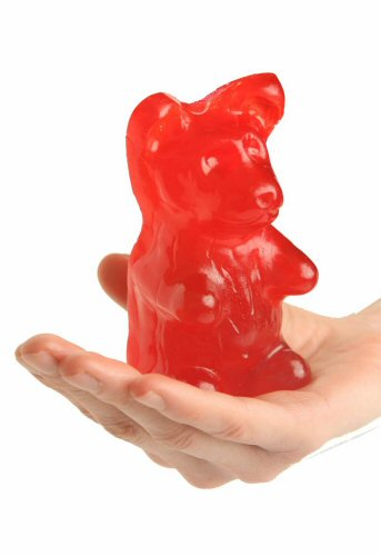 Giant Cherry Gummy Bear