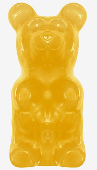 Giant Gummy Bears -  Lemon (Yellow)