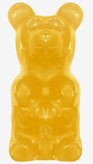 buy giant gummy bears lemon yellow vending machine supplies