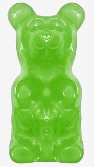 Lime Giant Gummy Bears (5 LBS)