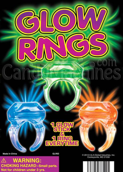 Glow Rings Vending Capsules
