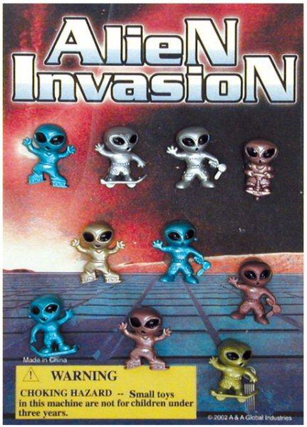 Mini Aliens Figurines Series 5 Vending Capsules