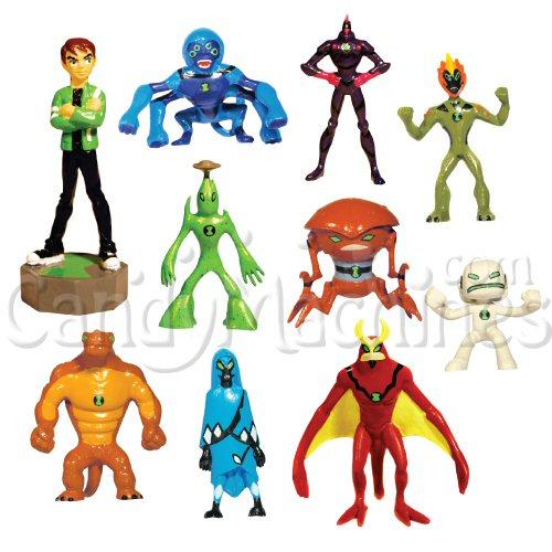 Buy Ben 10 Series 2 Figurines Bulk Vending Toys - Vending ...