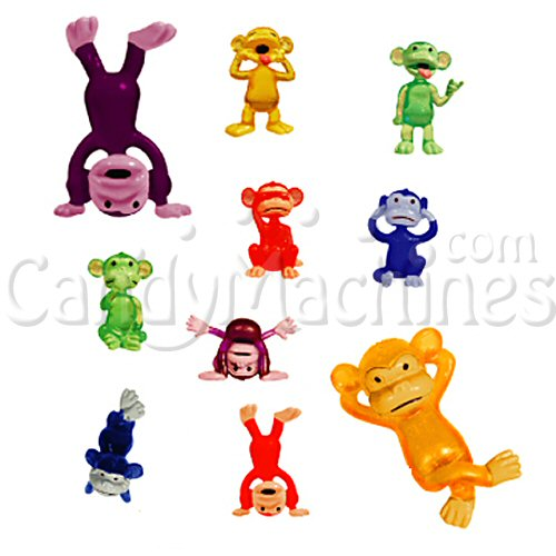 Funny Monkeys Figurines Bulk Vending Toys