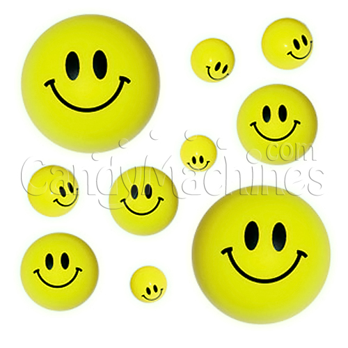 Mini Smiley Balls Bulk Vending Toys