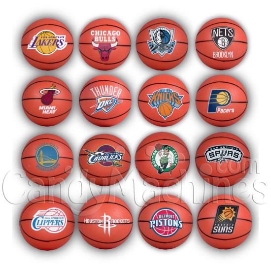 Buy NBA Mini Basketballs Bulk Vending Toys - Vending ...