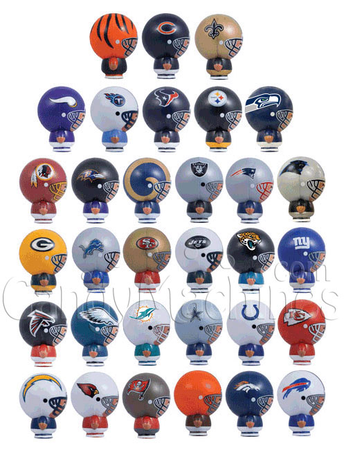 NFL Buildable Figurines Bulk Vending Toys