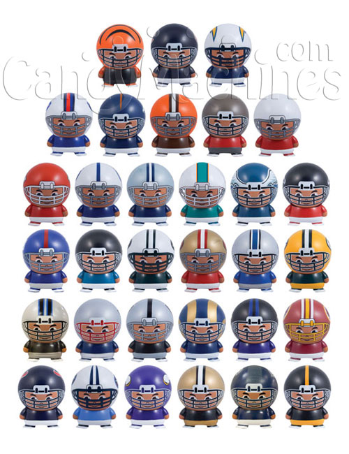 NFL Buildables Bulk Vending Toys