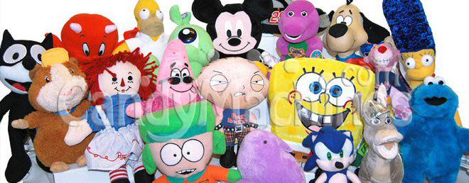 Jumbo Plush Stuffed Toy Mix - 100% Licensed