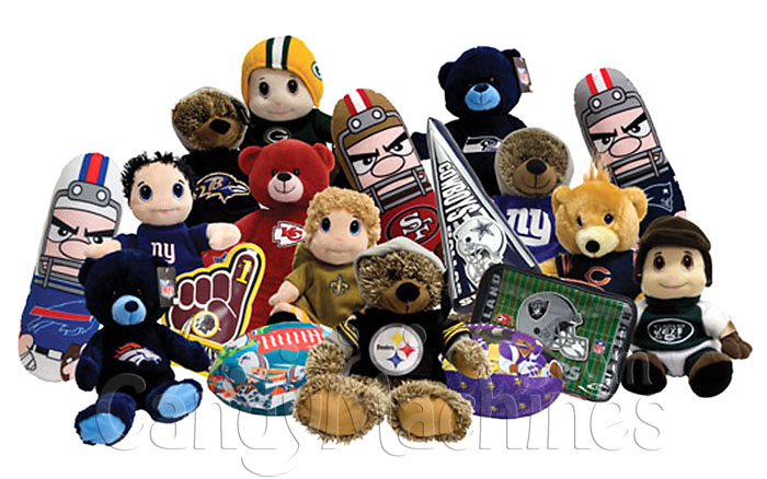 e4eb3ccbee9 Buy Jumbo Plush NFL Edition - 100% Licensed - Vending Machine ...