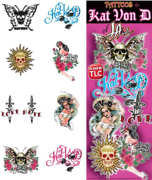 Kat Von D Vending Tattoos