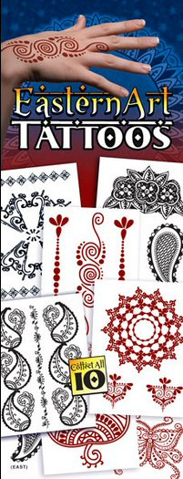 Eastern Art Vending Tattoos - Click Here To Buy!