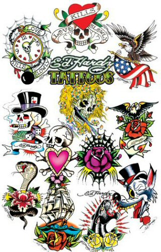 The gallery for --> Ed Hardy Heart Tattoo Designs