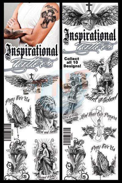 Buy Inspirational Temporary Vending Tattoos - Vending Machine ...
