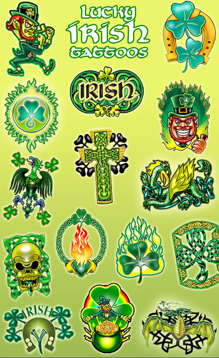 Henna Tattoo Kits Ireland: Buy Lucky Irish Vending Tattoos