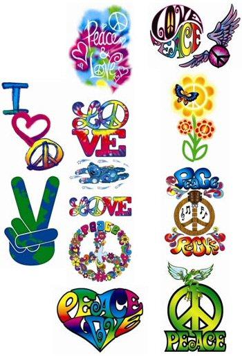Peace Love Tattoo