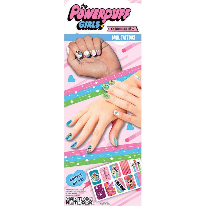 Buy Powerpuff Girls Nail Tattoos - Vending Machine Supplies For Sale