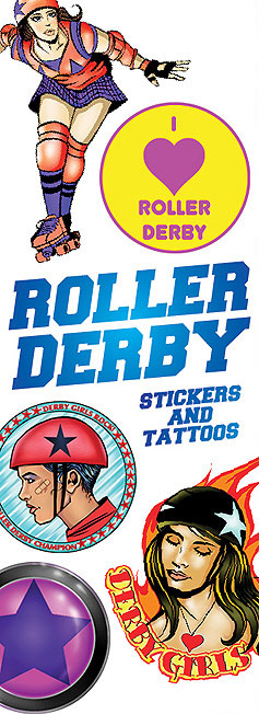 Roller Derby Vending Tattoos - 300 ct. Refill