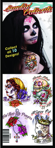 Smokin' Caliente Vending Tattoos - 300 ct. Refill