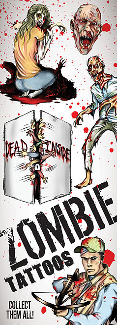 Zombie Vending Tattoos - 300 ct. Refill