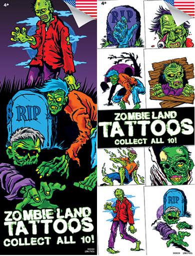 Buy zombieland vending tattoos vending machine supplies for Zombie tattoo machine