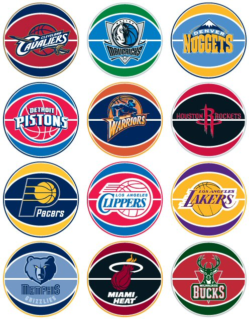 NBA Vending Stickers Refill 300ct