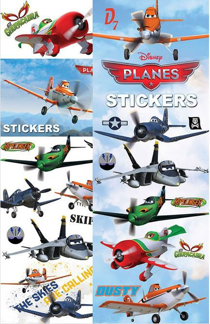 Disney Planes Vending Stickers Refill 300ct