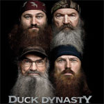 Duck Dynasty Vending Machine Stickers
