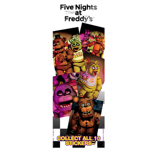 Five nights at freddy s vending stickers refill 300ct
