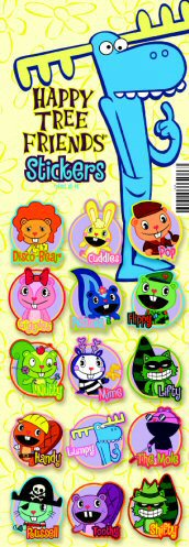 Happy Tree Friends Vending Stickers - Click Here To Buy!