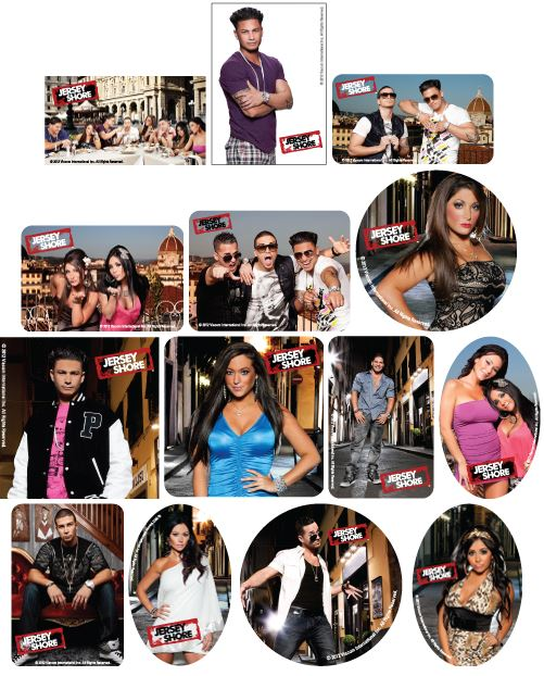 Jersey Shore Vending Stickers Refill 300ct