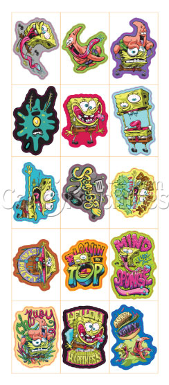 SpongeBob SquarePants KrustyPants Wacky Stickers