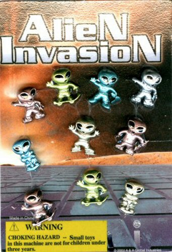 Alien Invasion Vending Capsules - Click Here To Buy!