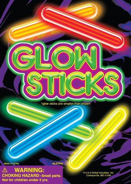 Glow Sticks Vending Capsules