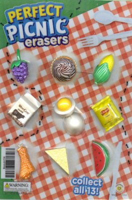 Perfect Picnic Erasers Vending Capsules 250 ct