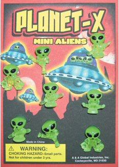Planet X Aliens Vending Capsules