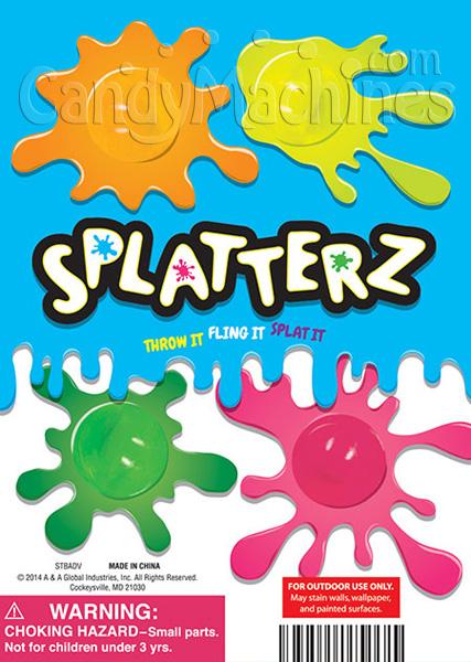 Splatters Vending Capsules