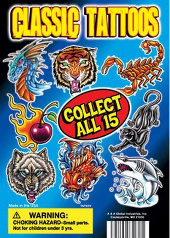 1.1 Tattoo Mix Refill Acorn Vending Capsules 250 ct