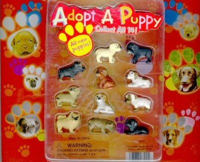 2-Inch Adopt a Puppy 3 Vending Capsules 250 ct