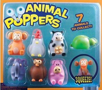 Animal Poppers Vending Capsules 250 ct