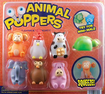 Animal Poppers with Mini Malz Vending Capsules 250 ct