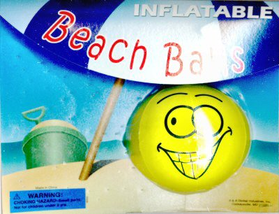 2-inch Beach Ball Refill Acorn Vending Capsules 250 ct